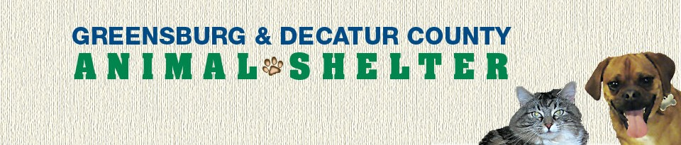 Greensburg & Decatur County Animal Shelter